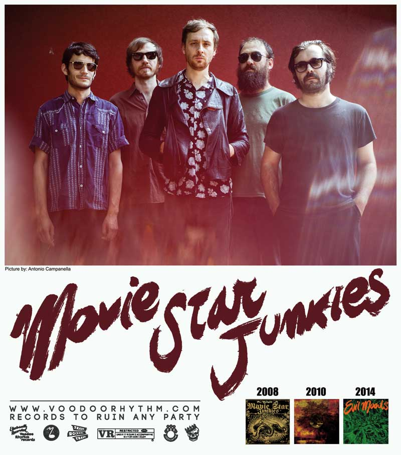 MOVIE STAR JUNKIES 2014