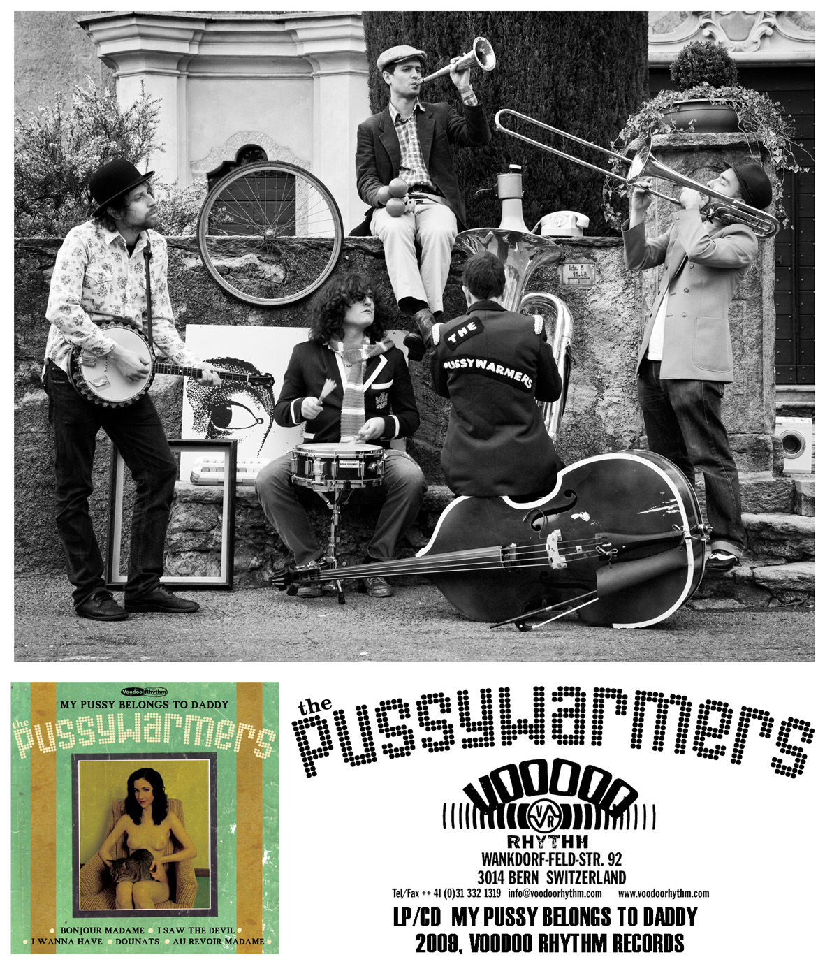 THE PUSSYWARMERS