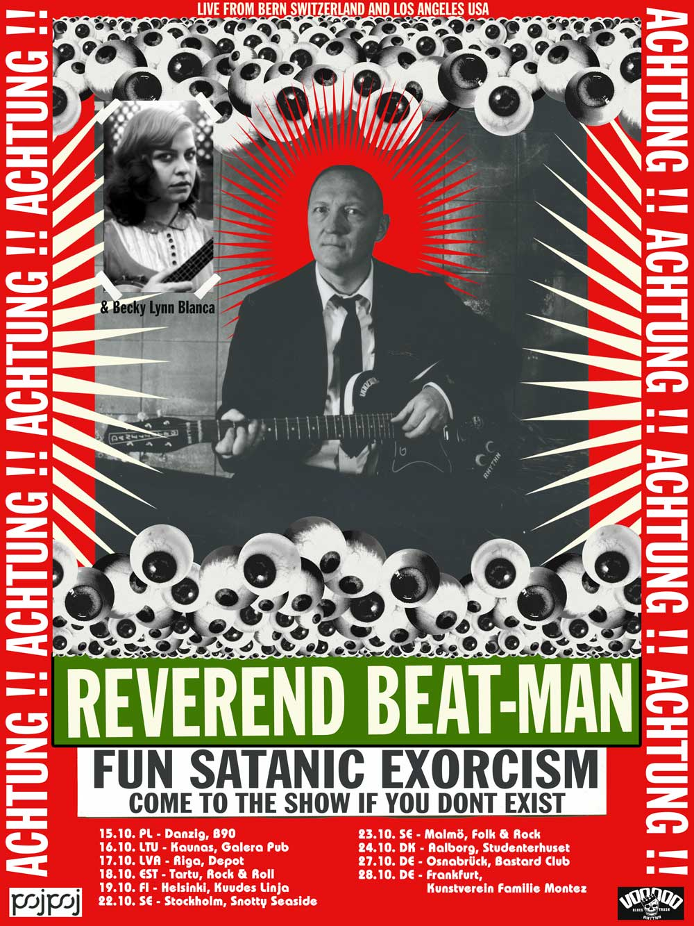 reverend beat man POSTER low